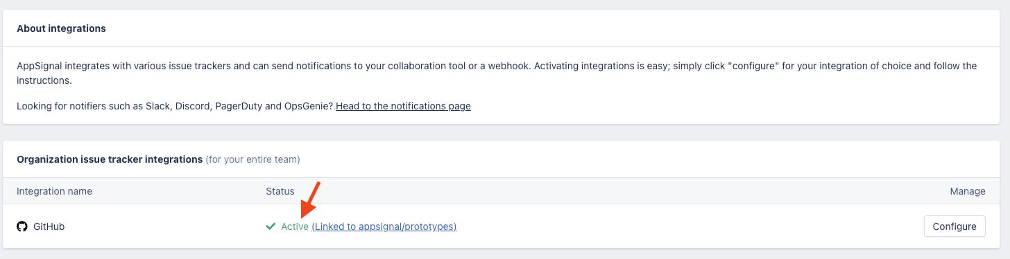 Complete github integration
