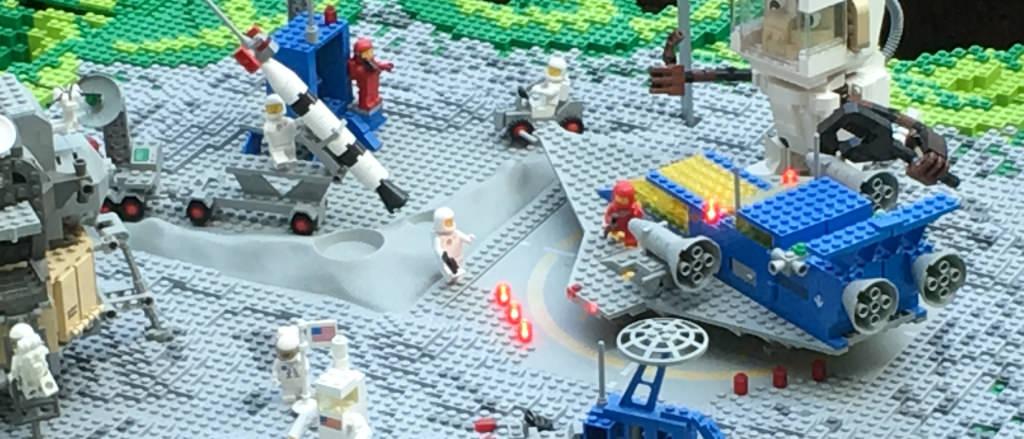 LEGO espace années 80