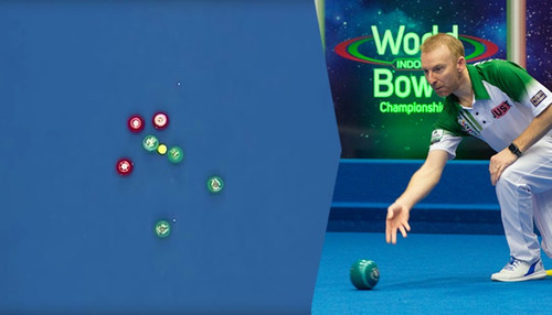 Indoor bowls goes viral – the shot seen around the world and hear from Nick Brett