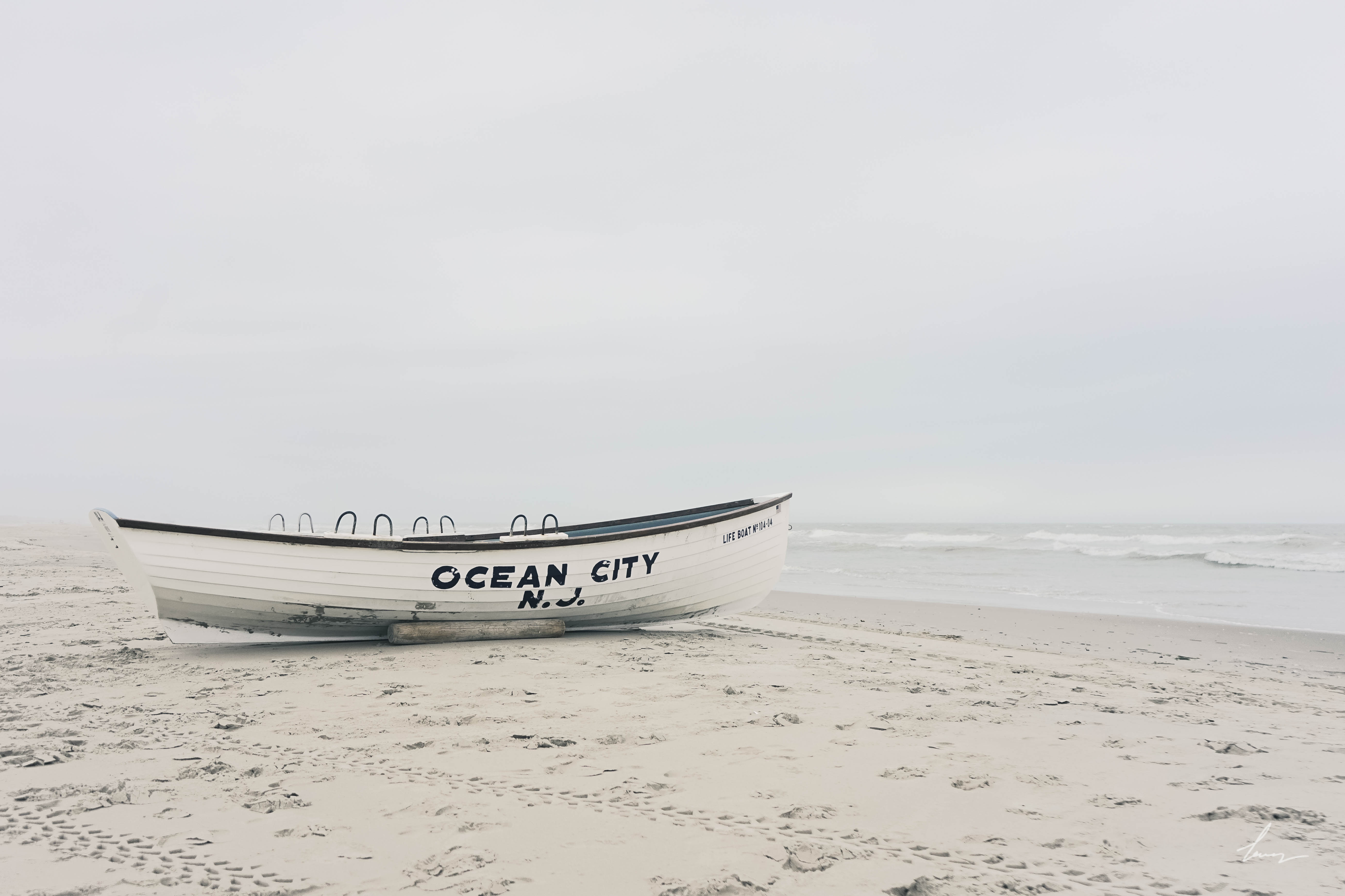 Lifeguard Boat - Ocean City, New Jersey