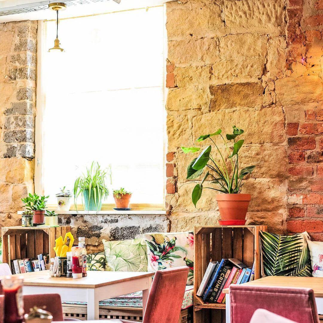 Inside Sebbies Cafe in Headingley