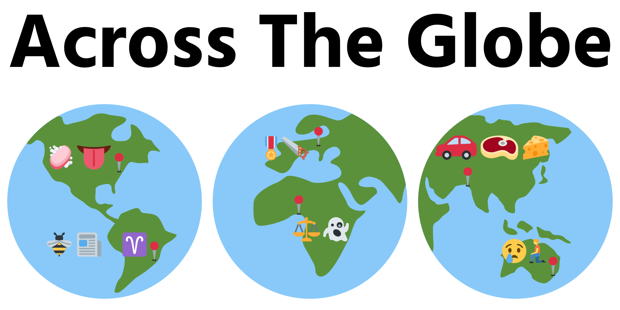 Emoji Riddles™: Across The Globe by Sidework AI