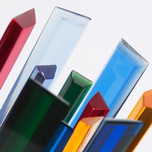 Barre in plexiglas in vari colori e dimensioni