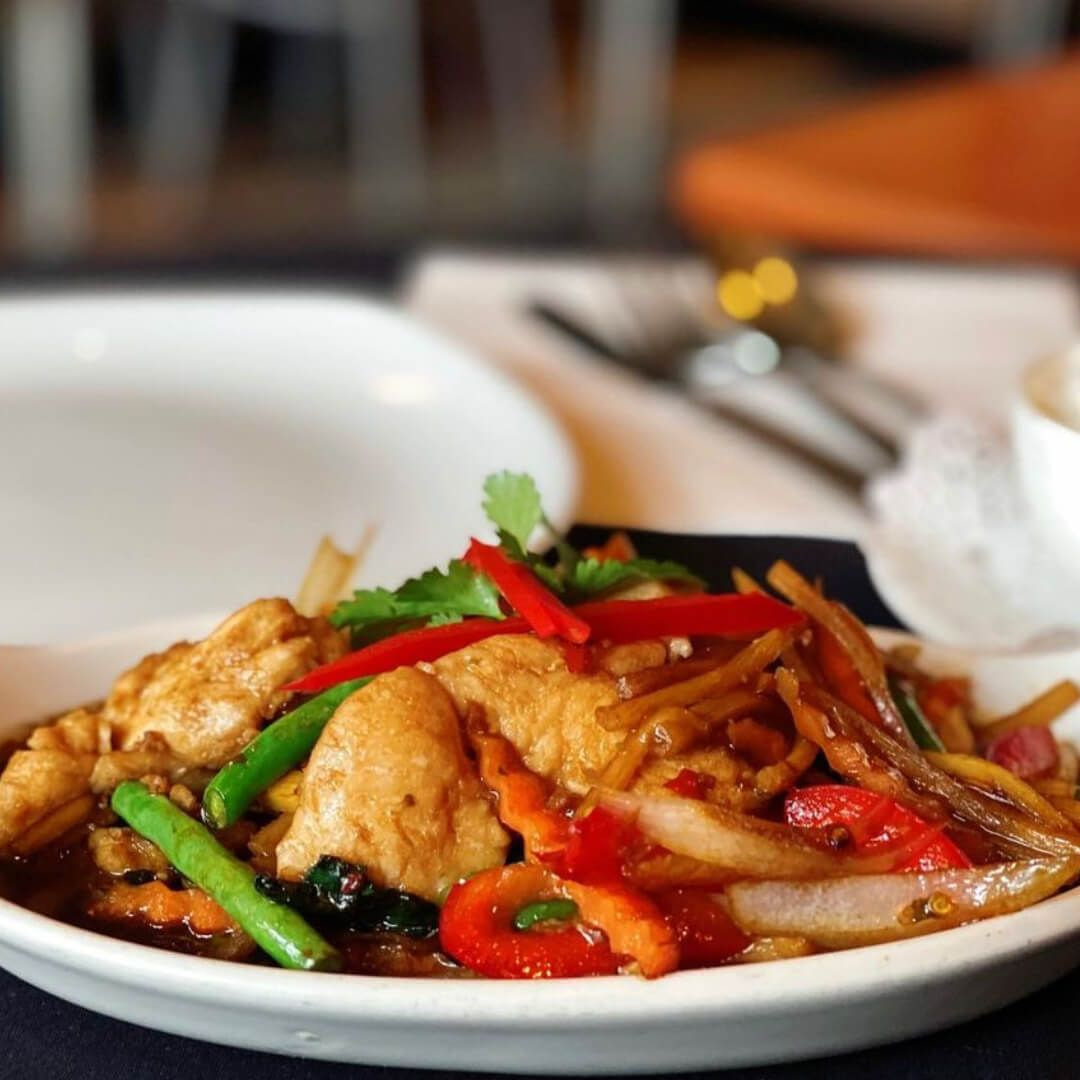 Thai Sabai food