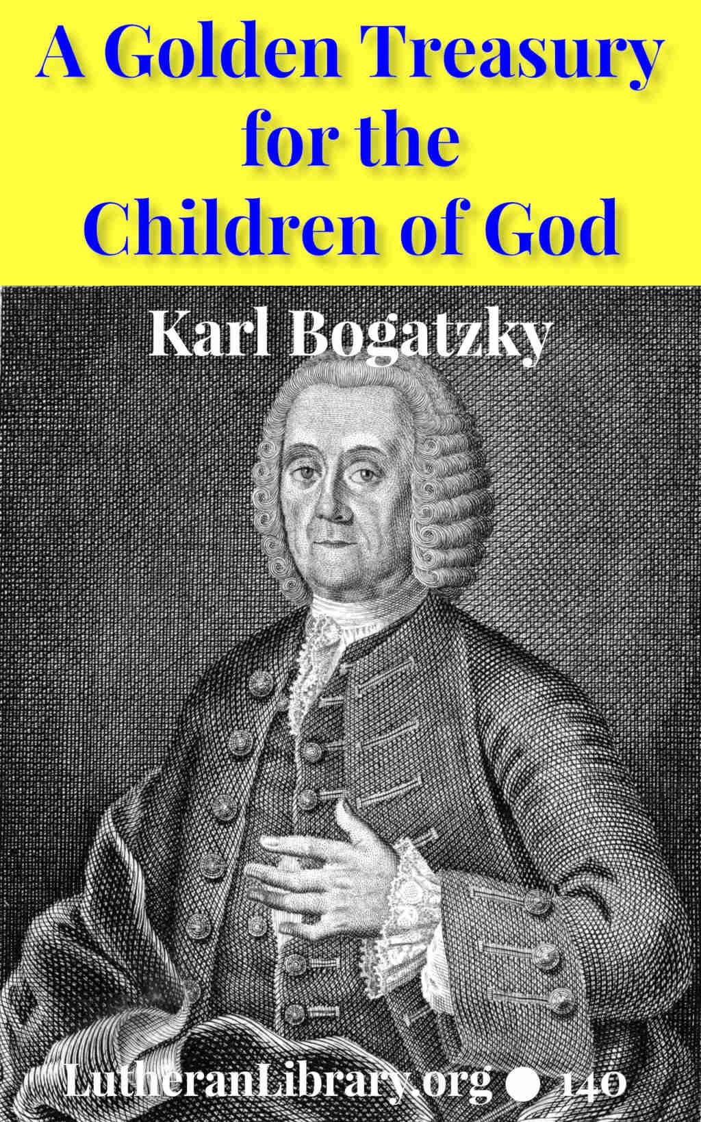 Bogatzky Golden Treasury