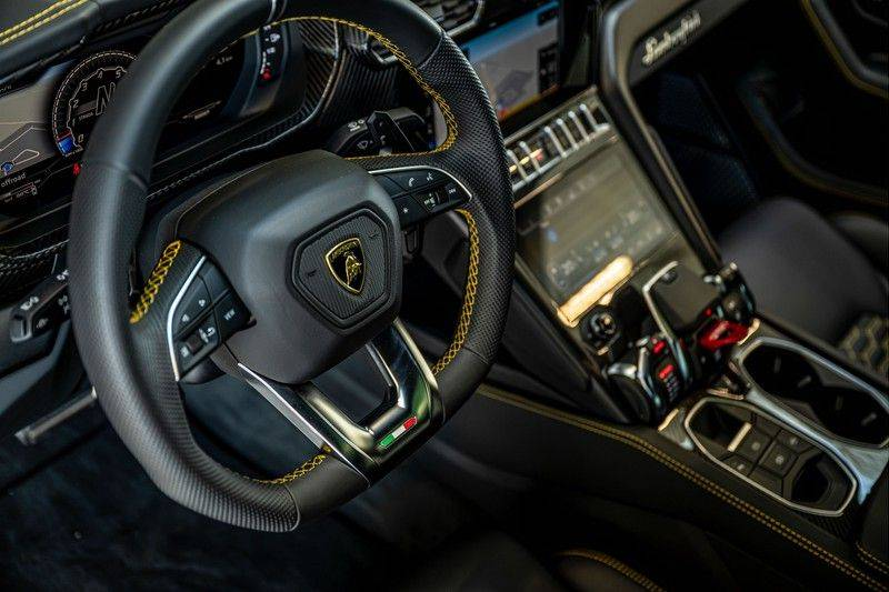 Lamborghini Urus 4.0 V8   Carbon interieur   Carbon exterieur   B&O 3D   Head-Up Display   Panorama   Massage   Ventilatie afbeelding 13