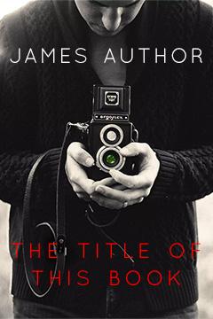 Sample cover for mainstream fiction novel.