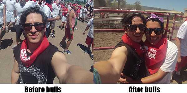 Before bulls, after bulls