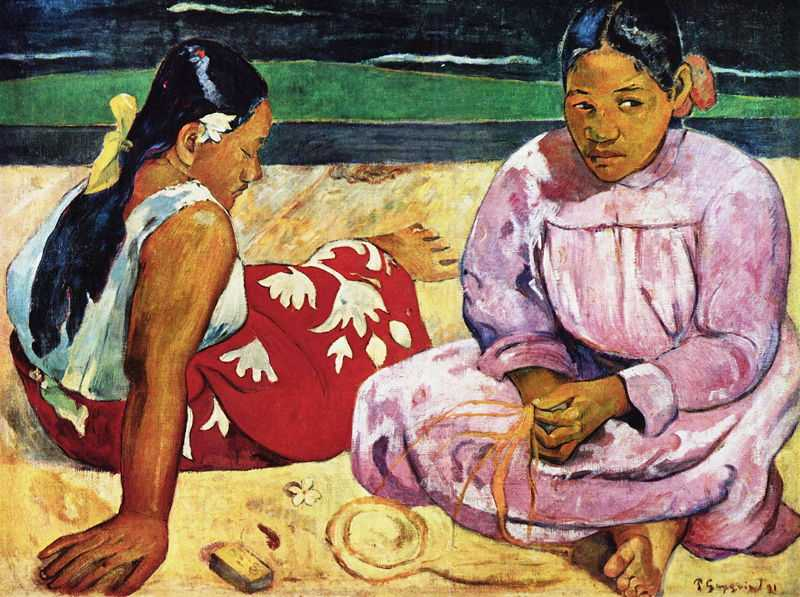 'Tahitian Women on the Beach' by Gauguin in 1891