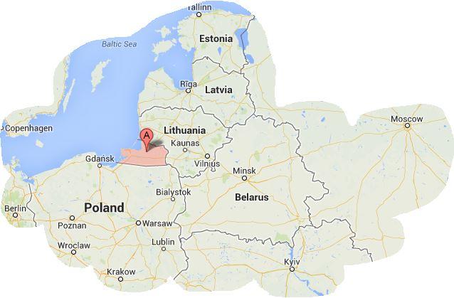 Russia, Kaliningradskaya oblast