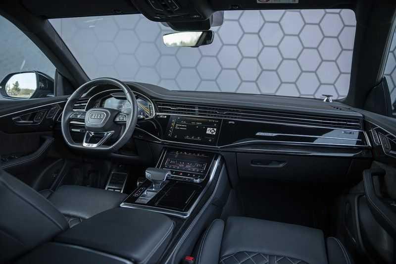 Audi Q8 55 TFSI quattro Pro Line S 3x S-Line! Black pack, 4-wiel-best. / Massage, Verw. & Koelb. stoelen, Bang & Olufsen 3D + Elek.Haak + Ambiente verlichting afbeelding 5