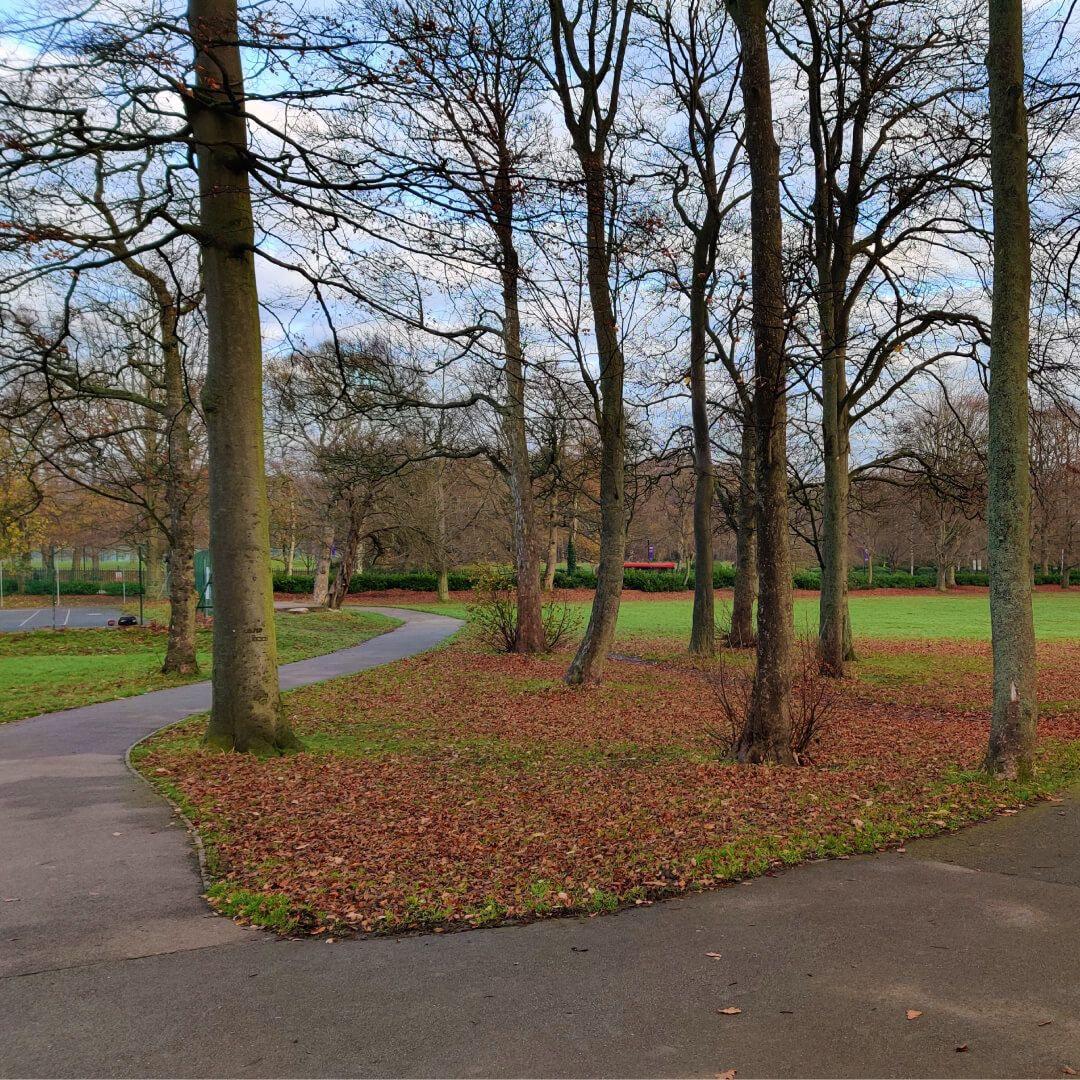 Beckett Park path