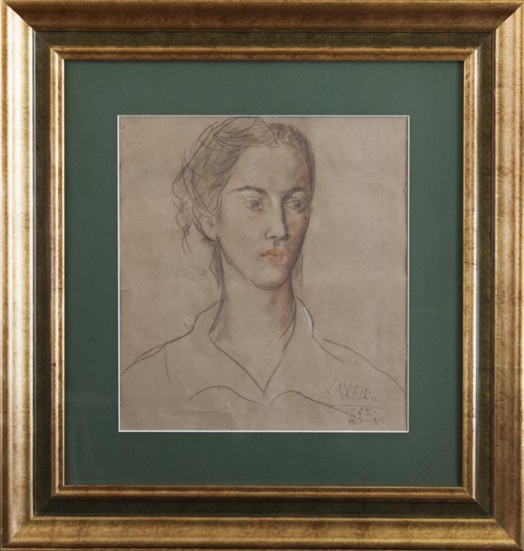 Laxeiro - dibujo - 45x42 cm · dibujo color