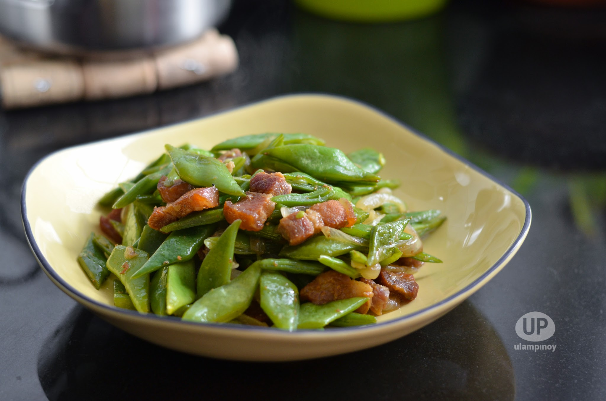 cover photo: Ginisang Green Beans