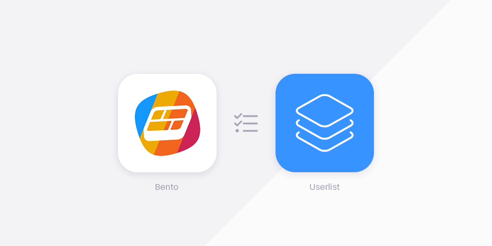 Bento vs Userlist