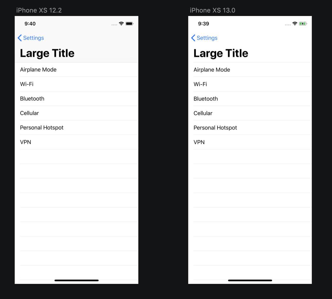 UINavigationBar changes in iOS13 | Sarun