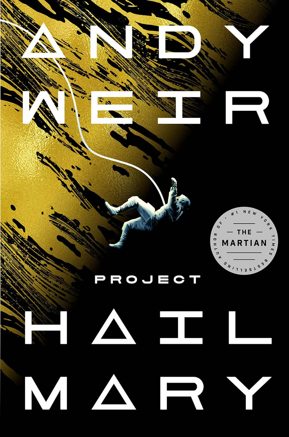 The cover of Project Hail Mary