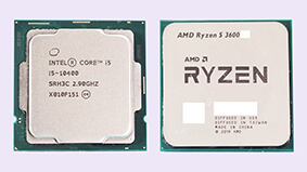 AMD Ryzen 5 3600 XT put in Versus with Core i5-10400 in Gaming Benchmarks