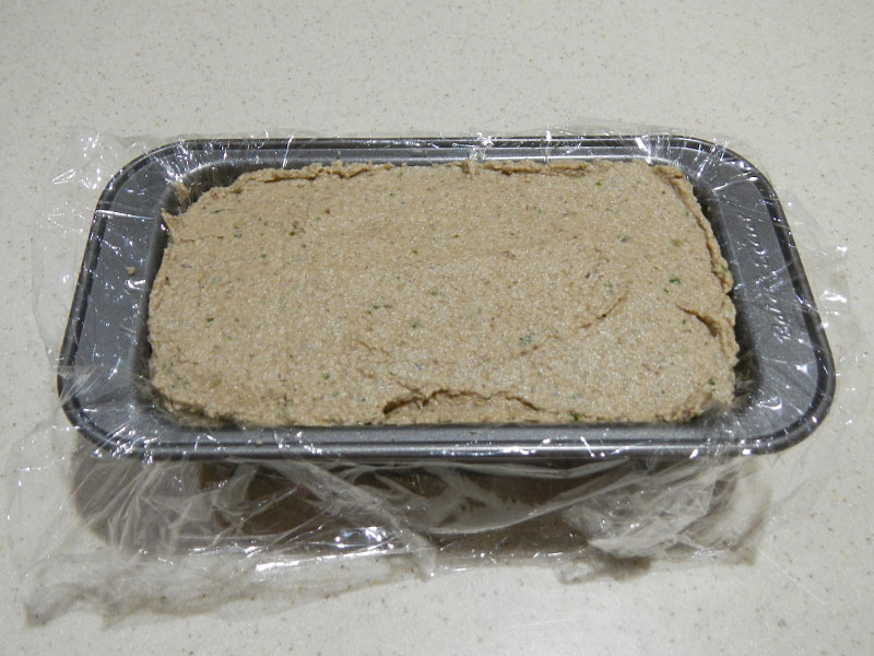 Putting Pate Into Mold