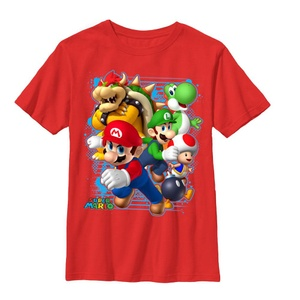 Mario Blast Out - T Shirt