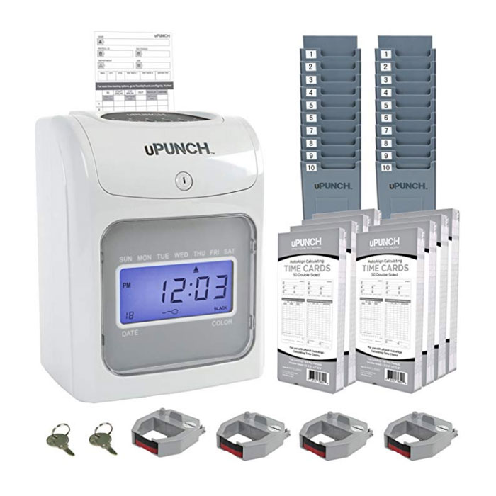 HN4540 Calculating Time Clock Bundle