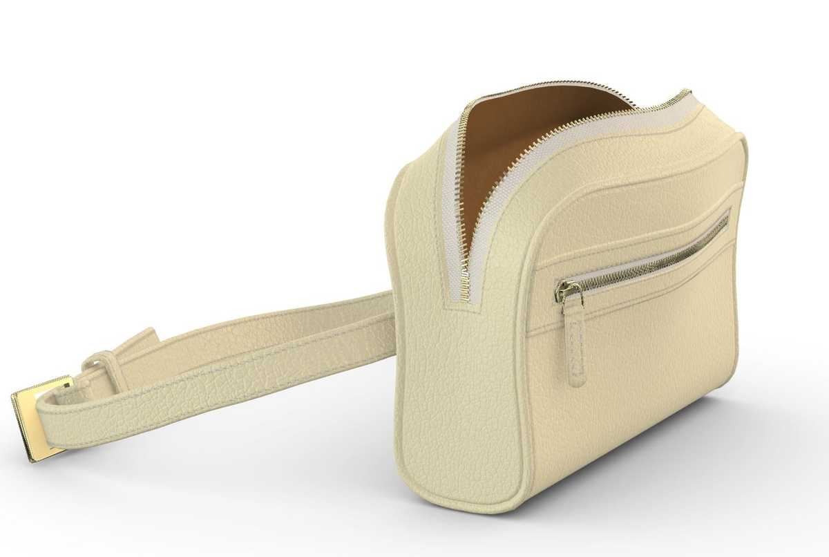 Izar Belt Bag - vanilla