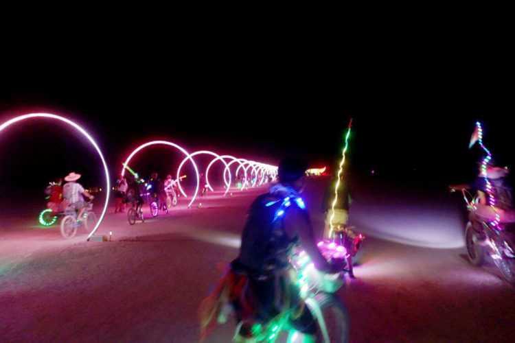 Burning Man Sonic Runway