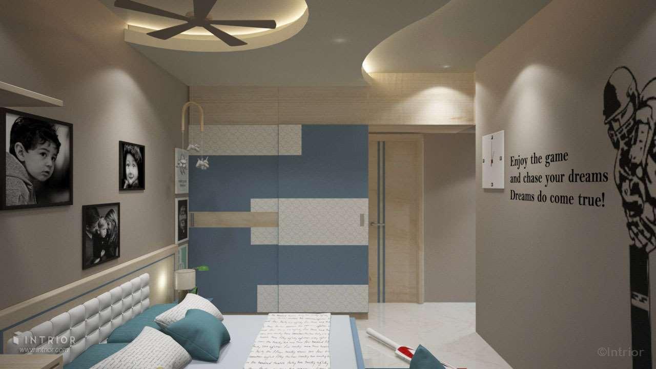Children Bedroom Wardrobe Design
