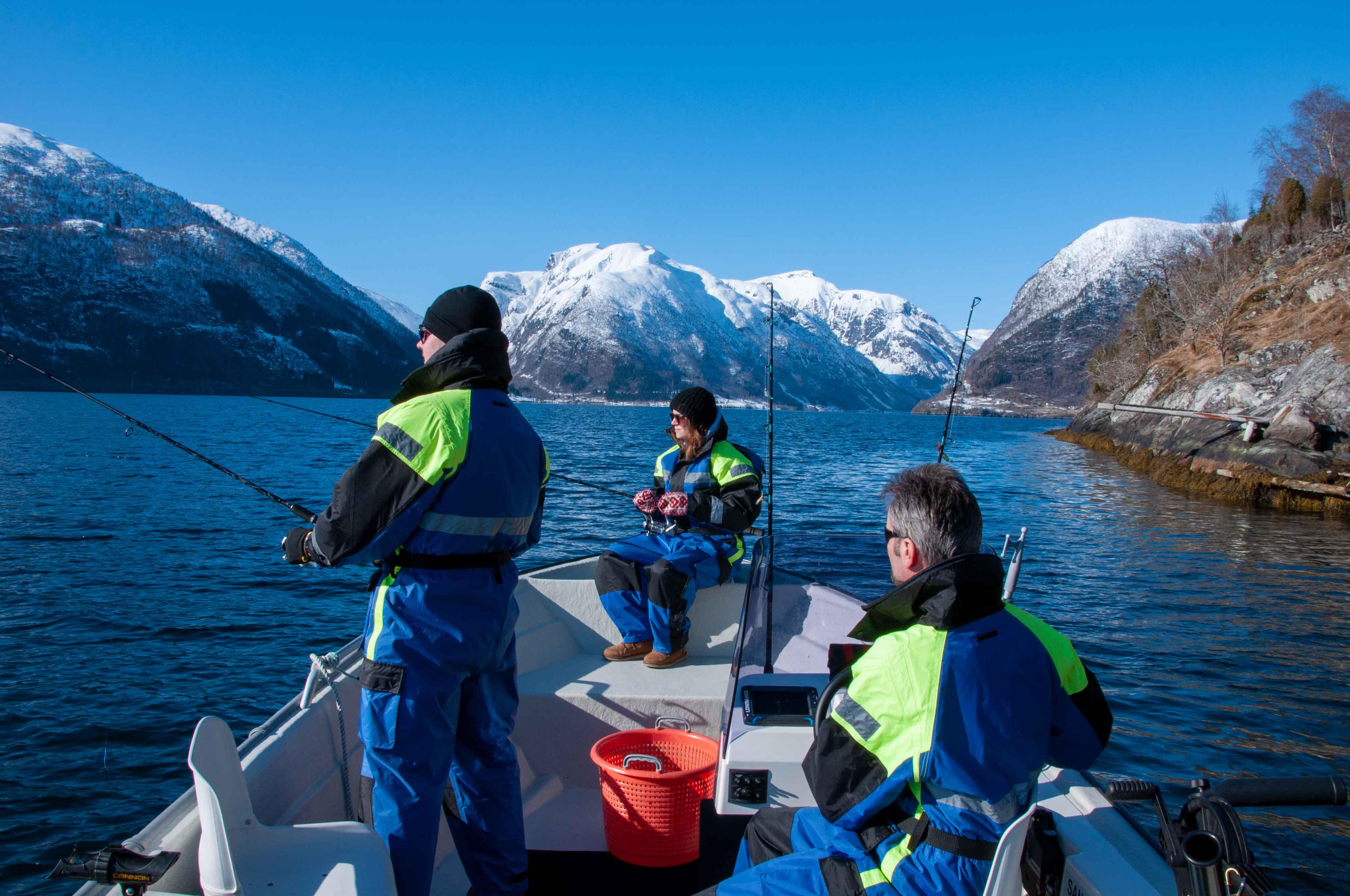 Balestrand Fjord Trolling