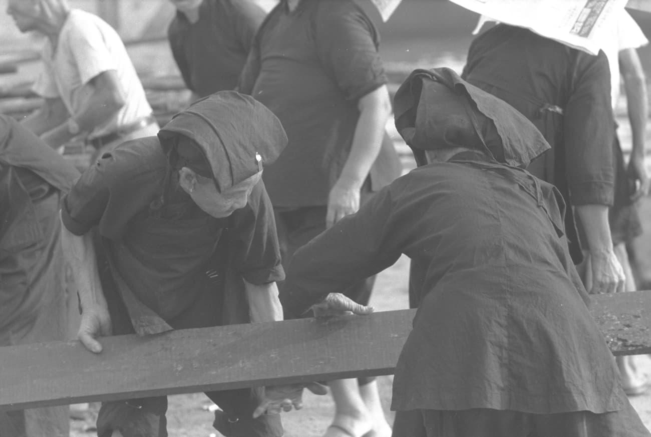 Samsui women, 1952