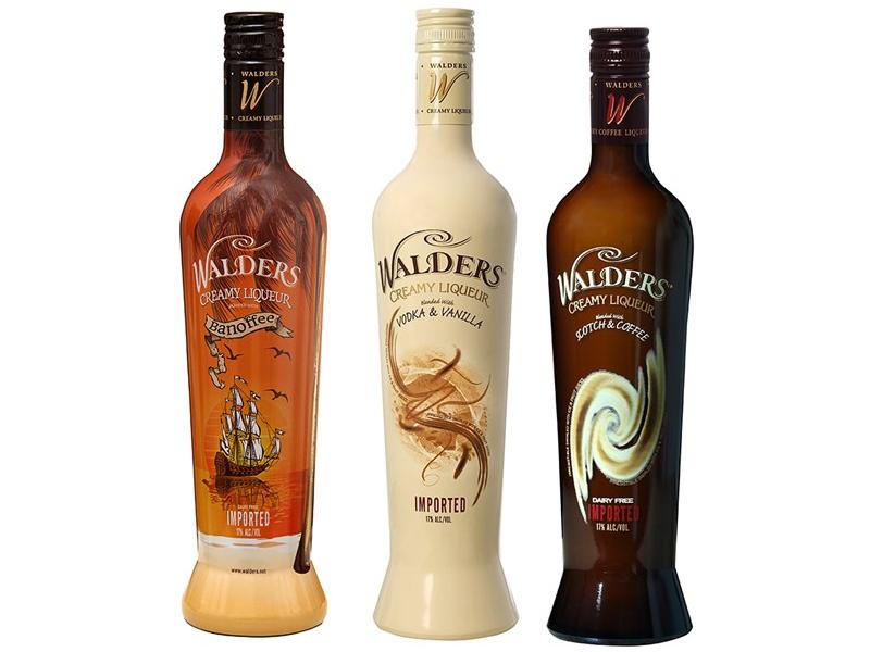 Walders Creamy Liquer Collection (750ml)