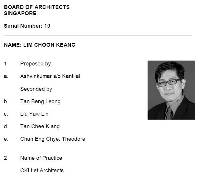 Lim Choon Keang