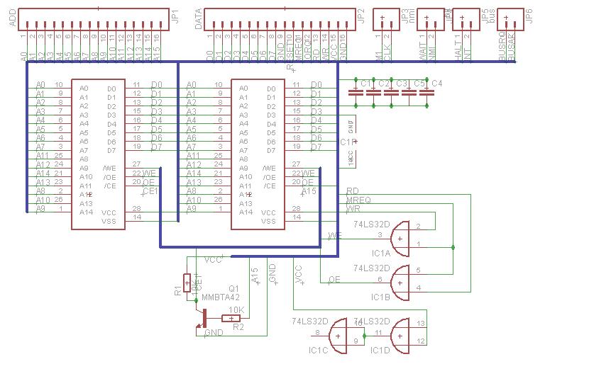 Zeta:RAM Schematic
