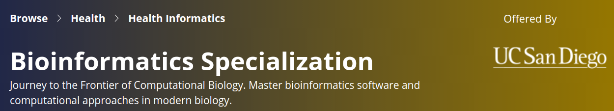 bioinformatics-specialization-ucsandiego
