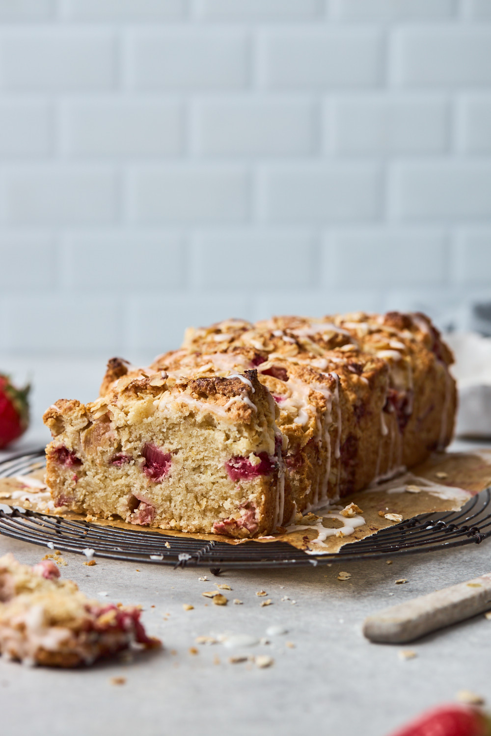 Berry Oat Scone Loaf