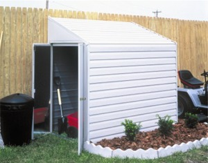 Arrow Yardsaver Metal Shed