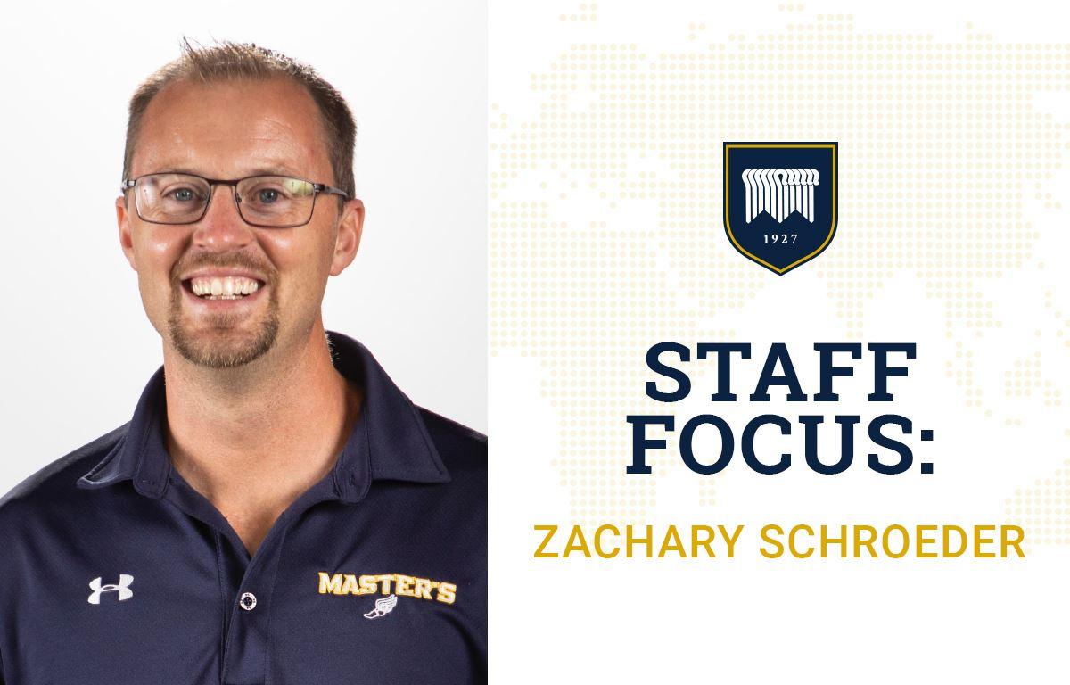 Staff Focus: Zachary Schroeder