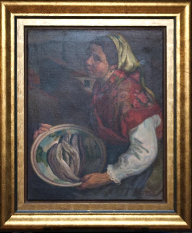 Roberto González del Blanco - oleo lienzo - 81x66 cm · óleo/lienzo