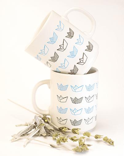 Ceramic mug Karavakia