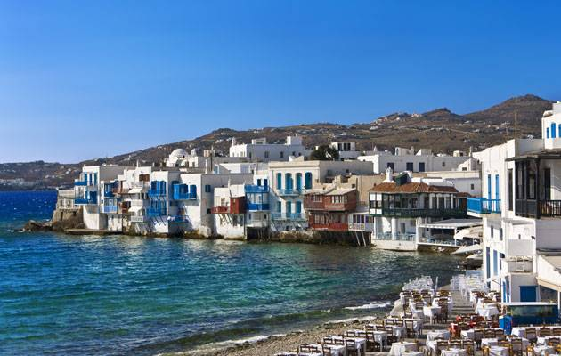 Discover magical Mykonos cruising the Greek islands