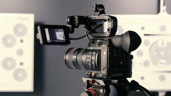 A camera.