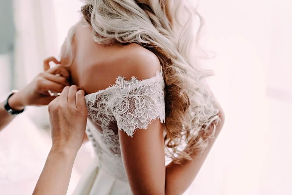 Blush Ely Cambridge Wedding Dress