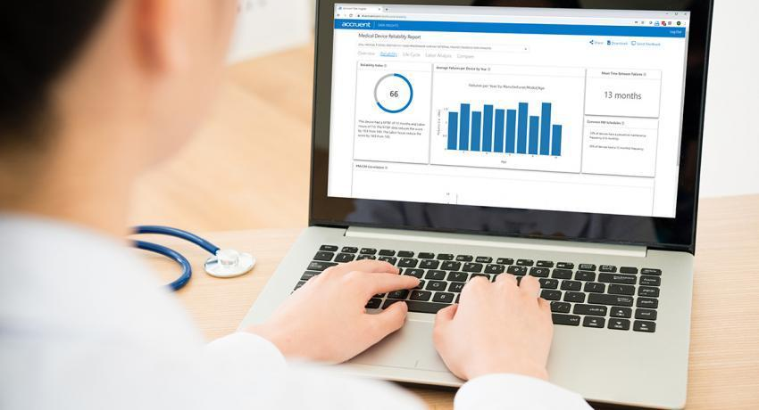 Accruent - Resources - Press Releases / News - Accruent Data Insights is First Solution to Deliver Objective Equipment Reliability Data to Healthcare Organizations - Hero