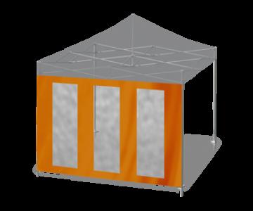 Seitenwand mit Panormafenster (vertikal oder horizontal)