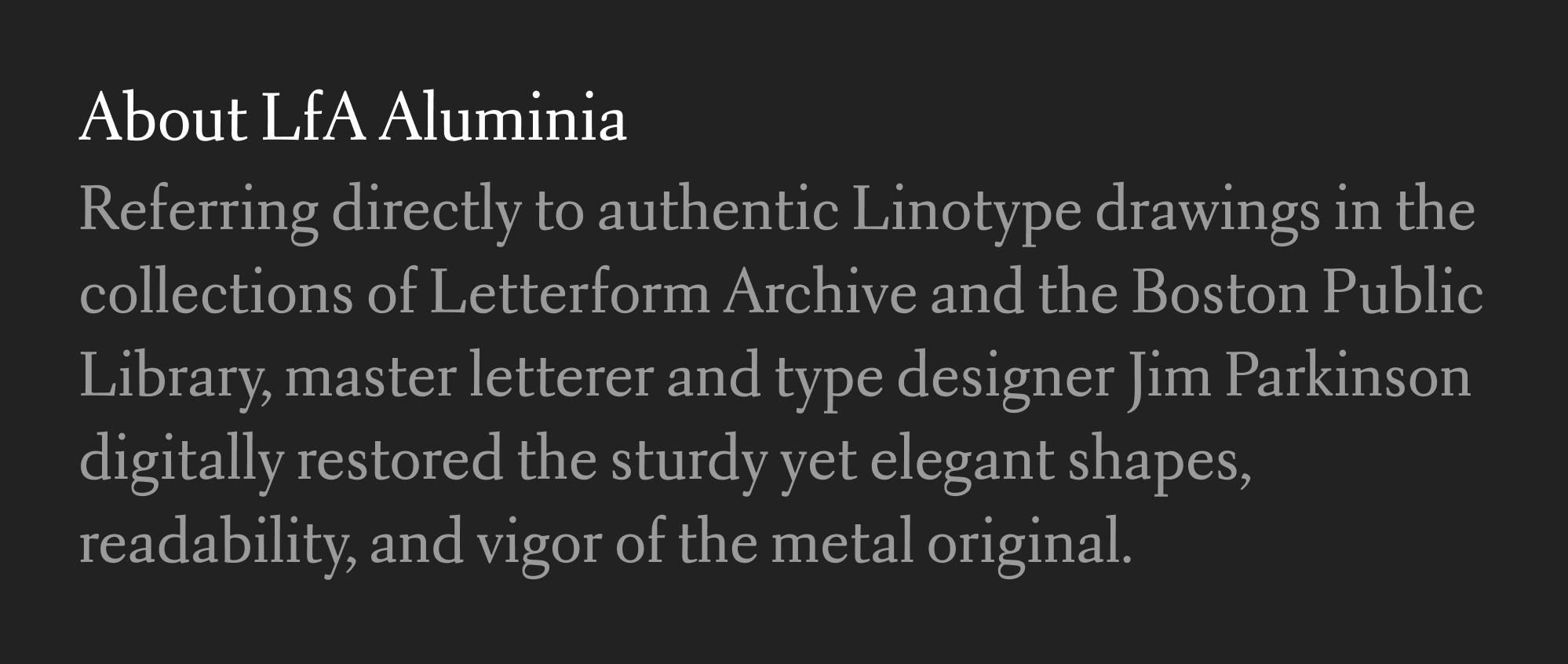 Another specimen of Aluminia