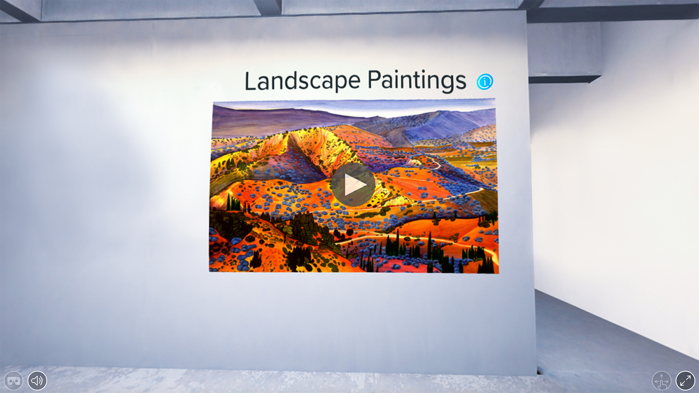 HAP landscape painting