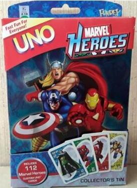 Marvel Heroes Uno