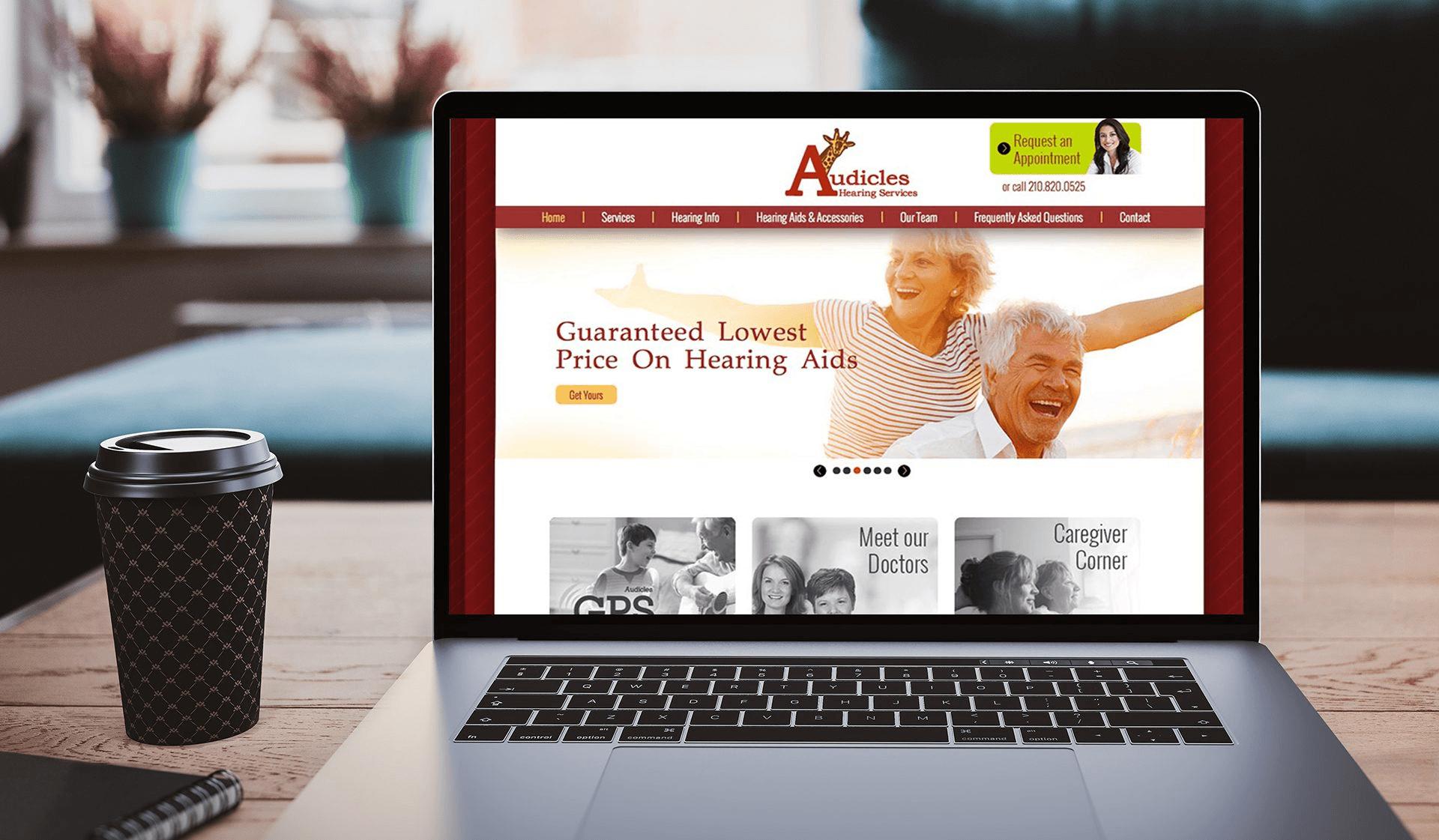 Audicles Website