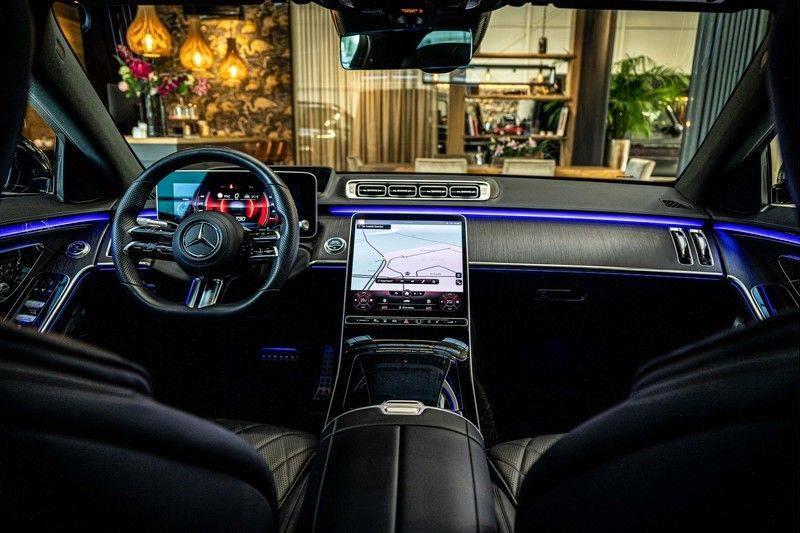 Mercedes-Benz S-Klasse 400d 4Matic Lang AMG | 3D Display | Augmented Head-Up Display | Burmester 3D | Pano | Memory afbeelding 22