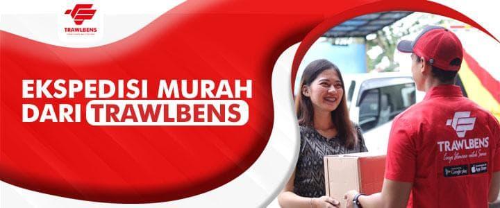 Ekspedisi Murah Trawlbens, Solusi Onlineshop SeIndonesia